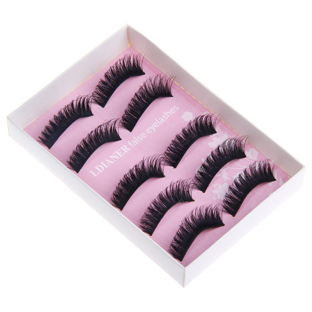 Makeup Exaggerated Stage Artificial Eyelashes