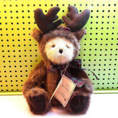 12.6 inch Teddy Bear in Deer Cloth Plush Toy Animal Home Decoration Girl Sweet Dream