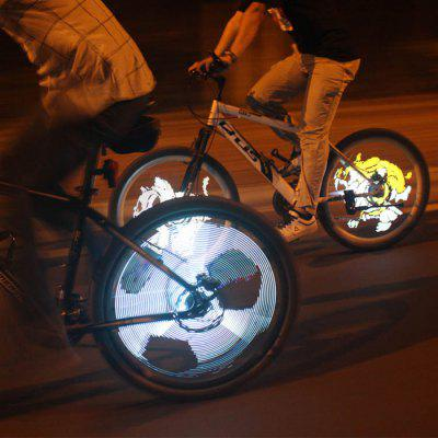 Yueqi YQ8008 216pcs LED Programmable Bicycle Spoke Light DIY