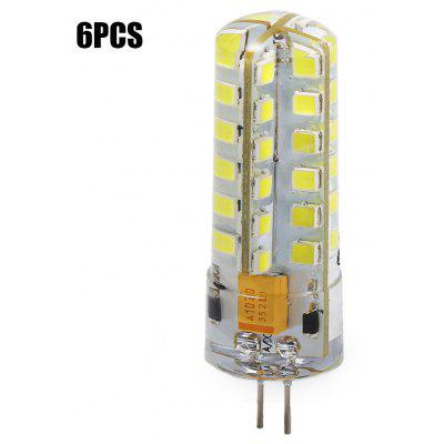 6 x G4 SMD 2835 6W 320Lm Mini LED Corn Bulb