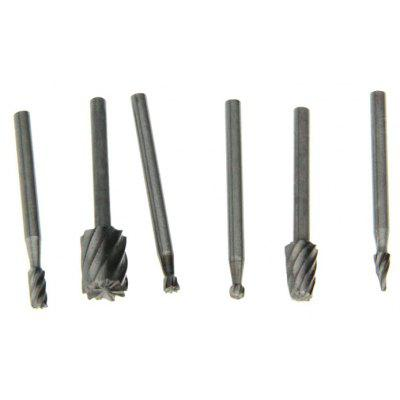 6 in 1 HSS Milling Cutter