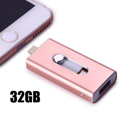 32GB PhotoFast i-FlashDrive HD 8Pin USB Flash Disk