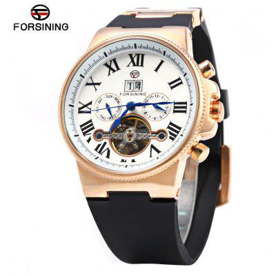 Forsining 2373 Male Tourbillon Automatic Mechanical Watch