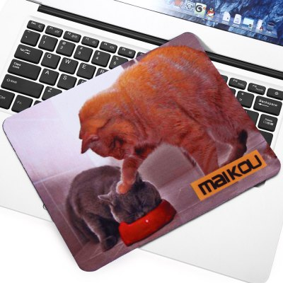 Maikou Mouse Pad Two Cats