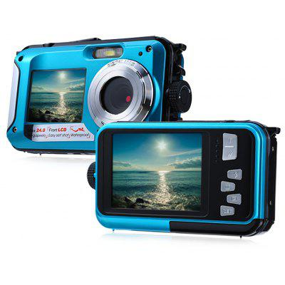Double Screens Waterproof Digital Camera -$68.39 Online Shopping ...