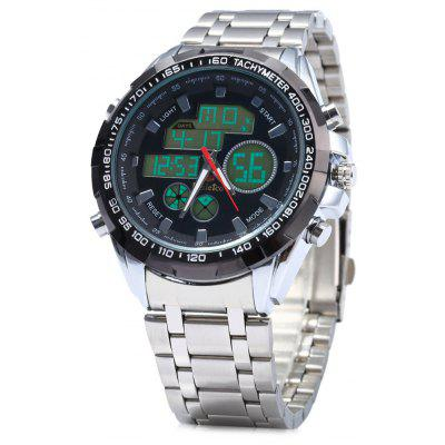 Kaletco 019C Multifunctional Men LED Sports Watch