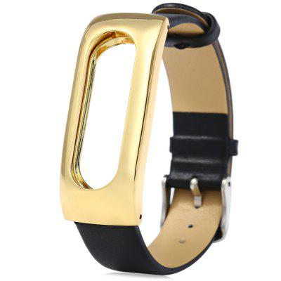 Leather Band Anti-lost Design Strap for Xiaomi Miband 1s