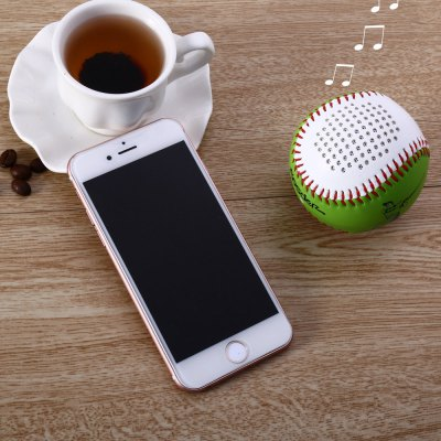 Aosder BL001 Baseball Wireless Bluetooth Rechargeable Speaker