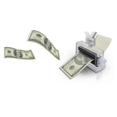 Trick Toy Cash Printer Magic Performance Prop for Kids Adult