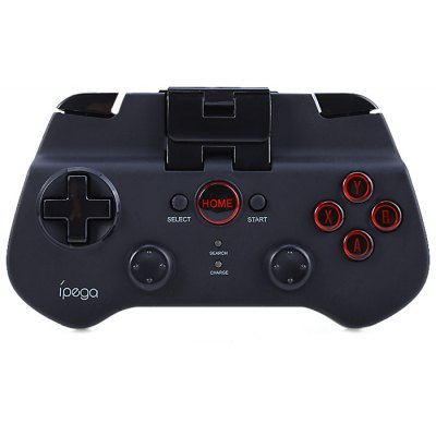 Buy BLACK IPEGA PG-9017S Wireless Bluetooth 3.0 Gamepad Game Controller with Stand for $18.84 in GearBest store