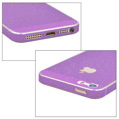Angibabe Frosted Shimmering Full Body Protector for iPhone SE / 5SIPhone Screen Protectors<br>Angibabe Frosted Shimmering Full Body Protector for iPhone SE / 5S<br><br>Brand: Angibabe<br>Compatible Phone Brand: Apple iPhone<br>Features: Anti scratch<br>For: Cell Phone<br>Mainly Compatible with: iPhone 5/5S<br>Material: PET<br>Package Contents: 1 x Back Protector<br>Package size (L x W x H): 17.700 x 9.400 x 0.100 cm / 6.968 x 3.701 x 0.039 inches<br>Package weight: 0.034 KG<br>Product Size(L x W x H): 13.900 x 7.600 x 0.010 cm / 5.472 x 2.992 x 0.004 inches<br>Product weight: 0.003KG<br>Thickness: 0.1mm<br>Type: Protective Film