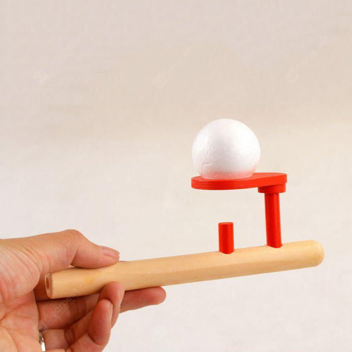 Magic Floating Ball Wooden Interesting Toy Present for Children
