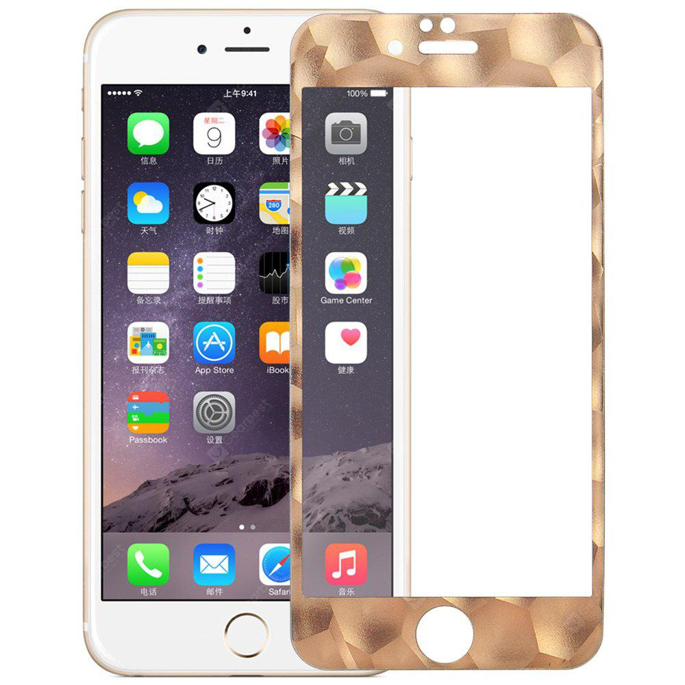 Angibabe Tempered Glass Screen Film for iPhone 6 / 6S with Water Cube Frame