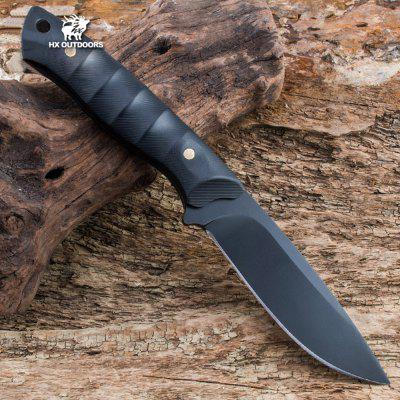 HX OUTDOORS D-131 60HRC Hardness Straight Knife