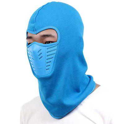 Skiing Pullover Hat with Mesh Breathable Mask for Winter