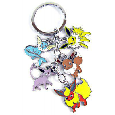 5 in 1 MEI KA Pokemon Keyring