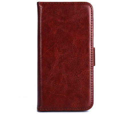 Magnetic Card Slot Wallet Stand Leather Flip Case for iPhone 5 / 5s / SE
