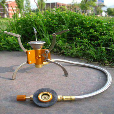 AOTU Folding Wind Stove Head with Bracket