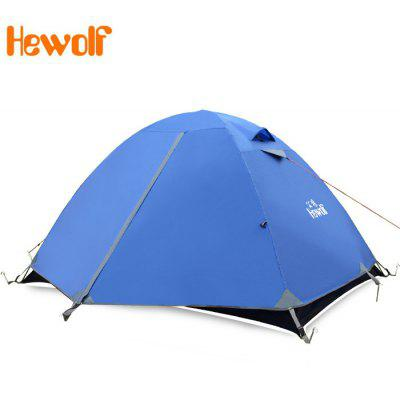 Hewolf Outdoor Double-layer Double Tent