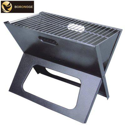 BORONGGE KW-014X 45 x 30cm Faltender Camping Grill