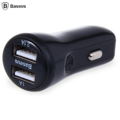 Baseus Dual USB 2.1A + 1A Car Charger