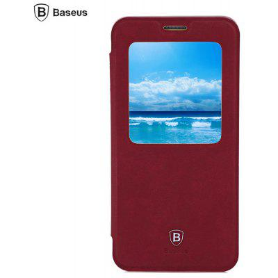 Baseus Smart Window Full Cover Stand Case for Samsung S6 Edge Plus