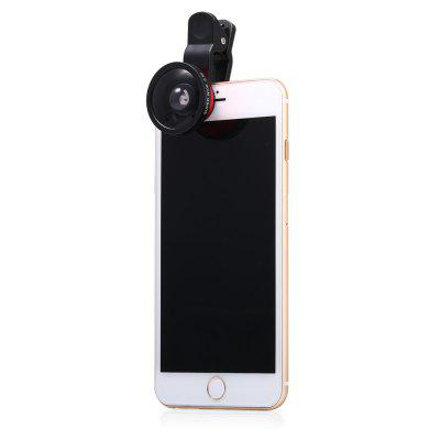 LQ - 002B Wide Angle 0.4X Clip-on Lens super wide angle 2x lens for iphone 6 6s