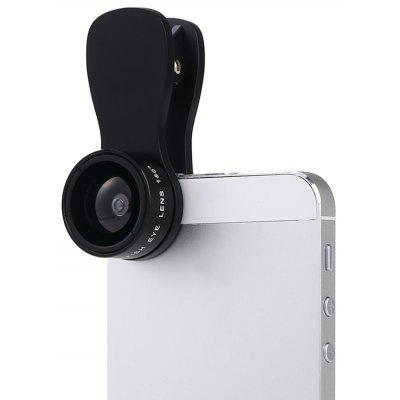F - 517 180 Degree Clip-on Fisheye Lens