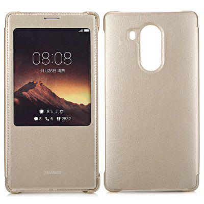 Original HUAWEI Mate 8 Smart Sleep Protective Cover Case PU Material with Window