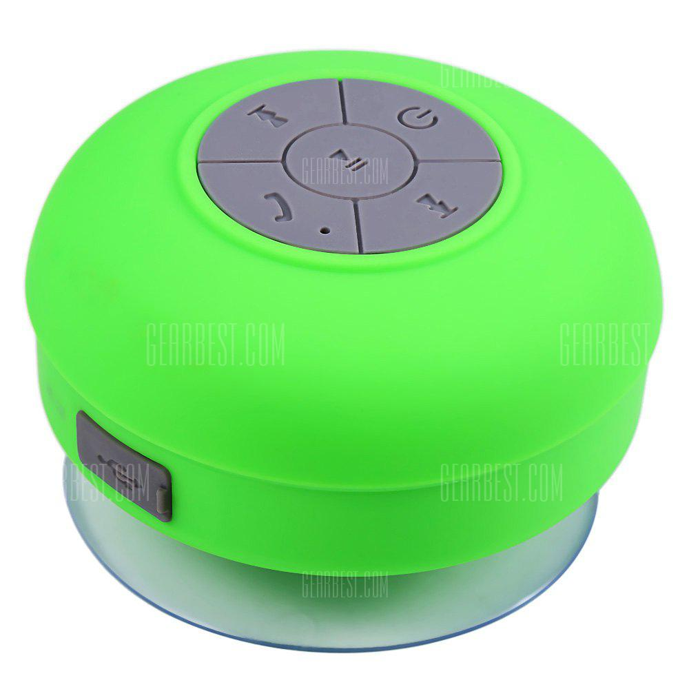 BTS - 06 Bluetooth Water Resistant Shower Speaker with Sucker