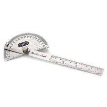 THD Stainless Steel Protractor Goniometer Measuring Tool