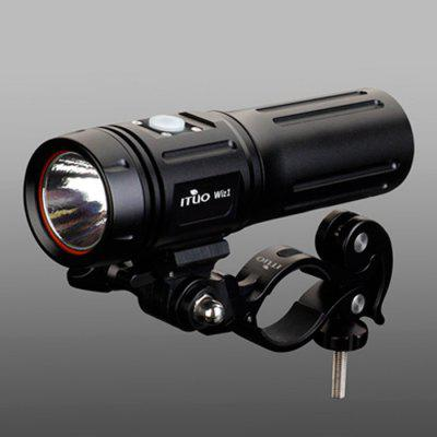 ITUO Wiz1 Cree XM - L2 900Lm Rechargeable LED Bike Light