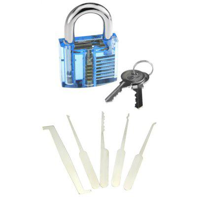 Transparent Practice Lock Tool Kit