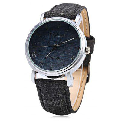 Feifan 62074G Fashionable Men Quartz Watch Leather Band