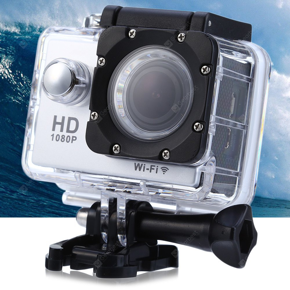 W9C 1080P FHD 170 Degree Angle WiFi Action Camera