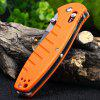 Ganzo G738-OR Axis Lock Pocket Knife - ORANGE
