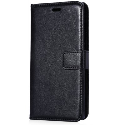 Magnetic Card Slot Wallet Stand Leather Flip Case for Huawei Ascend P8 Lite