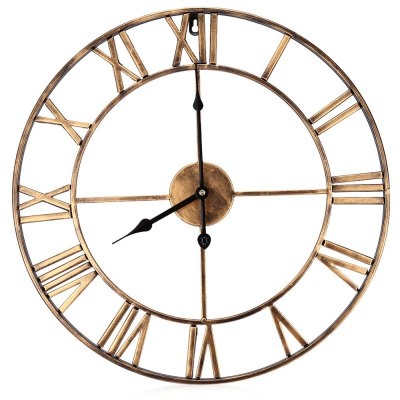 18.5 Inch Retro Decorative Wall Clock