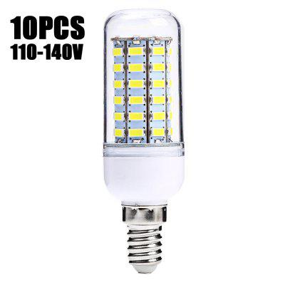 10 x SZFC 5.5W E14 SMD 5730 500Lm LED Corn Light
