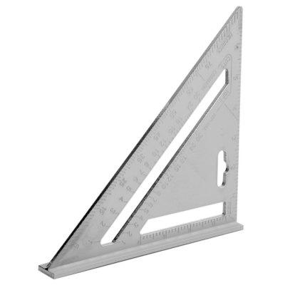 Aluminum Alloy Woodworking Triangular Ruler Decorating Assist ToolOther Tools<br>Aluminum Alloy Woodworking Triangular Ruler Decorating Assist Tool<br><br>Color: Silver<br>Material: Aluminum Alloy<br>Package Contents: 1 x Aluminum Alloy Woodworking Triangular Ruler<br>Package size (L x W x H): 27.500 x 20.000 x 3.300 cm / 10.827 x 7.874 x 1.299 inches<br>Package weight: 0.271 kg<br>Product size (L x W x H): 26.500 x 19.000 x 2.300 cm / 10.433 x 7.480 x 0.906 inches<br>Product weight: 0.201 kg<br>Special Functions: Measure<br>Type: Hand tools