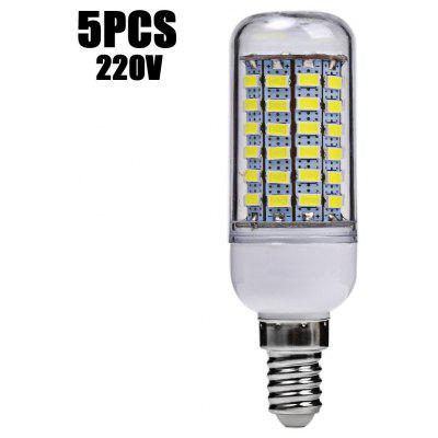 5 x SZFC E14 6W SMD 5730 560LM LED Corn Light