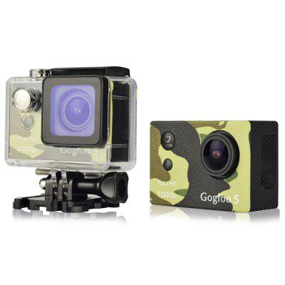 Gogloo 5 1080P FHD 173 Degree WiFi Action Camera