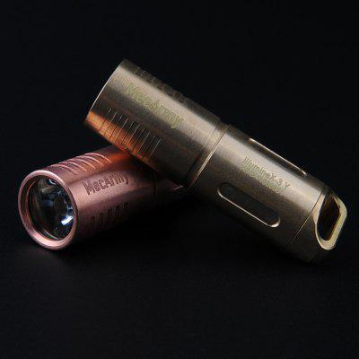 MecArmy illumineX - 3 Cu Cree XP - G2 130Lm Mini Copper LED Flashlight