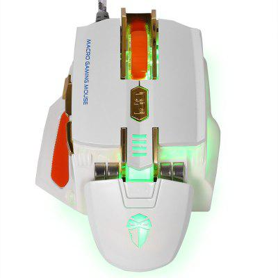 LUOM Professional Wired Gaming Mouse with 7 Buttons 4000 DPI