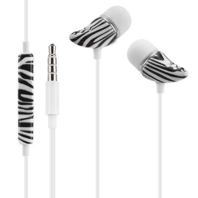 Stylish In-ear Earphones with Mic Volume Control