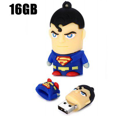 16GB Superman USB 2.0 Stick / Flash Memory Drive