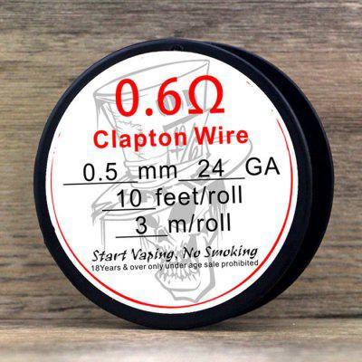 Original Advken 0.5mm Clapton Wire Ferrochrome A1 Resistance Wire
