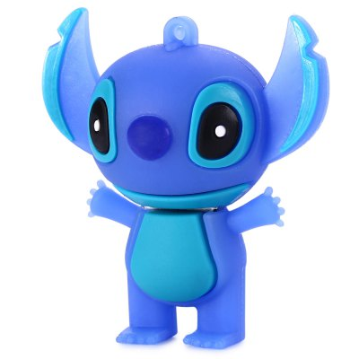16GB Stitch USB 2.0 Stick / Flash Memory DriveUSB Flash Drives<br>16GB Stitch USB 2.0 Stick / Flash Memory Drive<br><br>Available Color: Blue,Pink<br>Capacity: 16G<br>Features: Cartoon, Dustproof<br>Interface: USB 2.0<br>Package Contents: 1 x 16GB Stitch USB 2.0 Flash Disk<br>Package size (L x W x H): 6.500 x 6.000 x 3.800 cm / 2.559 x 2.362 x 1.496 inches<br>Package weight: 0.061 kg<br>Product size (L x W x H): 5.500 x 5.000 x 2.800 cm / 2.165 x 1.969 x 1.102 inches<br>Product weight: 0.021 kg<br>Style: Cartoon<br>Type: USB Stick