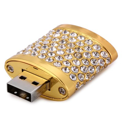32GB Diamante Lock USB 2.0 Stick / Flash Memory DriveUSB Flash Drives<br>32GB Diamante Lock USB 2.0 Stick / Flash Memory Drive<br><br>Available Color: Gold,Silver<br>Capacity: 32G<br>Features: Novelty<br>Interface: USB 2.0<br>Package Contents: 1 x 32GB Diamante Lock USB 2.0 Stick<br>Package size (L x W x H): 6.100 x 4.200 x 2.600 cm / 2.402 x 1.654 x 1.024 inches<br>Package weight: 0.083 kg<br>Product size (L x W x H): 5.100 x 3.200 x 1.600 cm / 2.008 x 1.260 x 0.630 inches<br>Product weight: 0.043 kg<br>Style: Novelty<br>Type: USB Stick
