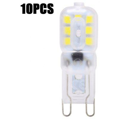 Buy WHITE LIGHT 10PCS 10PCS 2W G9 SMD 2835 200Lm LED Capsule Bulb for $10.28 in GearBest store